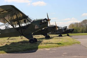 L-Birds aujourd'hui, en Normandie - Rassemblement Piper L-4 et Stinson L-5