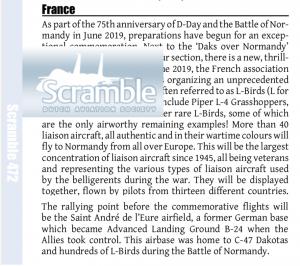 Scramble magazine