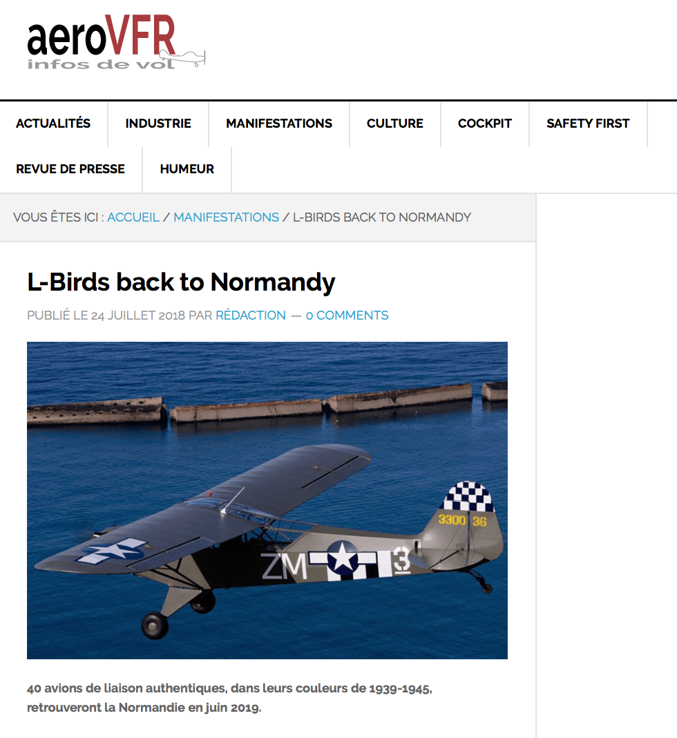 Article presse AeroVFR