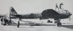 JU-188 St André of the Eure in 1944