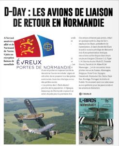 Article Evreux portes de Normandie