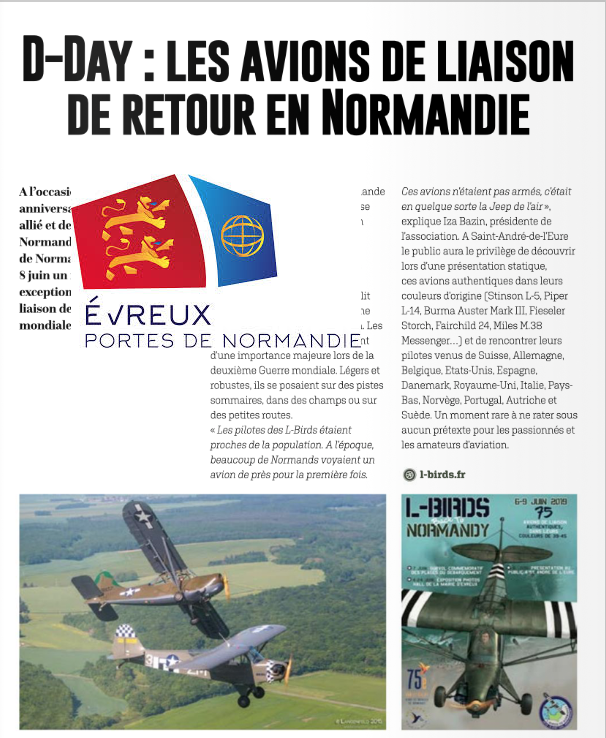 Article Evreux portes de Normandie